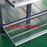 Australia Style Supermarket Zinc Metal Wire Mesh Display Shelf