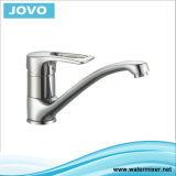 Sanitary Faucet Brass Cartridge Double Handle Kitchen Mixer Jv 71907