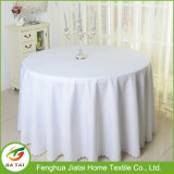 Hotel Wedding Table Cloth Cover Round Polyester Tablecloth