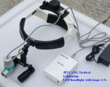 Portable Surgical LED Headlight with Dental Loupes 3.5X