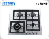 OEM Cusomized 4 Burner Stainless Steel Gas Hob
