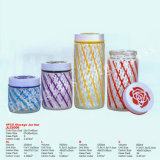 New Pattern Glass Storage Jar and Canister
