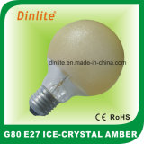40W 60W Ice Crystal Amber Incandescent Bulb