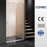 Hinged Door Tempered Glass Adjustable Shower Screen 7279