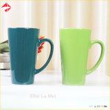 Wholesale Tea Cup V Shape Ceramic Coffee Mug/Ceramic Mug Set for Gift