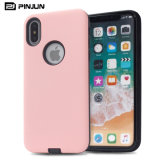 Hybrid Hard Armor Cell Mobile Phone Cover for I Phone X Iphonex Case
