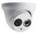 Indoor Ahd Cvi Infrared Dome CCTV Security Cameras