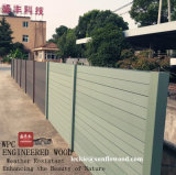 Wood Plastic Composite Wood Garden Security Privacy Fencing
