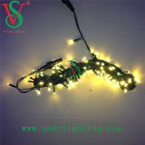 PVC Wire Christmas Tree Decorations LED String Lights Outdoor Use