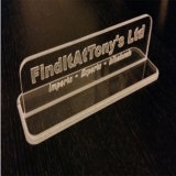 Acrylic Art Decoration Sign-Craft Desk Display Holder Promotional Gift Products