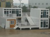 Quick and Easy to Build Prefabricated Container House Camp Widely Applicated in Construction