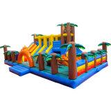 Favorite Dinosaur Park Inflatable Tents Theme Bouncy Castle Castle Slide for Kids