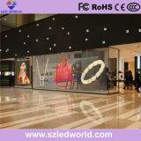 P3 Glass Panel Display Screen for Street Showcasing