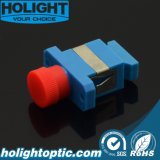 Hybrid Adaptor Sc Female to FC Female Singlemode Plastic Type