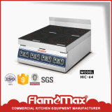 4-Plate Commercial Induction Cooker Table Top Range (HIC-64)