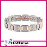 Wholesale Custom Brand Multiculor Stainless Steel Magnetic Bracelet (CP-JS-BL-111)