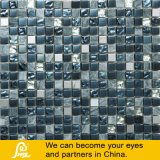 Crystal Glass Mosaic Mix with Stone (Ash Stone 04)