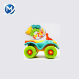 Learning DIY Motorcycle Cars Children Educational Toys Plastic 3D Puzzle Mould