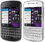 "New Original for Blackberry Q10 16GB Black (Unlocked) Smartphone, 8MP, 3.1"", GSM Qwerty"
