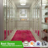 L Shape Plywood Veneer Bedroom Wardrobe Closet