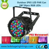 Outdoor LED Stage PAR Light 3W*36PCS RGB with Ce, RoHS Certificate