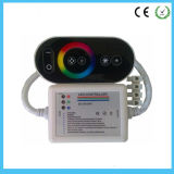 Plastic Shell Full Touch RGB Remote Control RF Frequency 433MHz