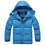 Blue Down Jacket, Outer Wear for Men