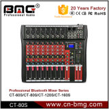 Professional 6/8/12/16 Channel Audio Mixer Sound From Bmg Professional Audio Factory China