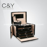 Latest Design Leather Packaging Gift Jewelry Box