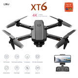 Mini RC Drone 4K 1080P HD Dual Camera WiFi Fpv Air Pressure Altitude Hold Foldable Quadcopter GPS Dron for Boy Toys