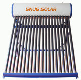 Compact Low Pressure Color Steel Solar Water Heater