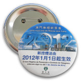 Tin Badge, Organizational Lapel Pin for Promotion (GZHY-MKT-031)