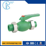 PPR Pipes and Fittings Ball Valve for Hot Water