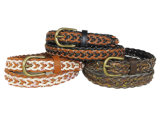 Ladies Fashion Braid Weave Belts (KY3542)