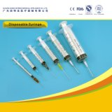Wholesale ISO Approved 3-Part Syringe with Needle for Single Use