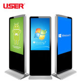 Full HD 47 Inch Floor Standing Network LCD Screen Digital Signage All in One Machine Advertising Kiosk Display Equipment