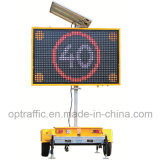 Wholesale Price Road Safety Low Power Consumption Fully Solar Powered Traffic Full Colour LED Vms Message Signs