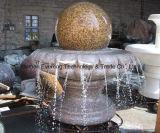 Natural Granite Marble Ball Rolling fountain in Garden