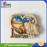 3D Tourist Europe Countries Wood Fridge Magnet Souvenir