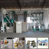Complete Set 10t/24h Roller Mill for Wheat Flour (10t)