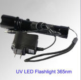 UV LED Torch 365nm LED Torch 3W