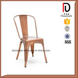 Wholesale Antique High Back Durable Metal Dining Room Chair
