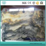 High Quality/Polished/Hzx Stone/ Ming Green Onyx Slabs for Countertop/Vanitytop/Kitchenrtop/Walltile