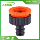 "Plastic Flexible Water Hose Connector 3/4""-1"" Female Tap Adaptor"