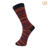 Men′s Stripe Bamboo Sock