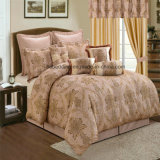 Hot Selling Romantic Wedding Quilt Jacquard Bedding Set