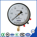 Hot Selling 100mm Potentiometer Type Teletransmission Pressure Gauge ISO Approved