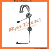 Single Headset with Noise-Cancelling Boom Microphone and Earphone (RHS-0550)
