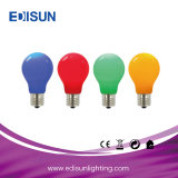 Colorful Light 6W A60 E27 B22 LED Lamp Bulb