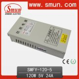 Smun 120W 5V 24A Rain-Proof LED Switching Power Supply